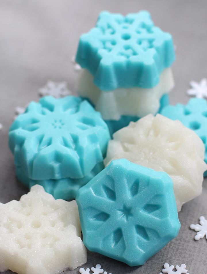 идеи новогоднего мыла ручной работы