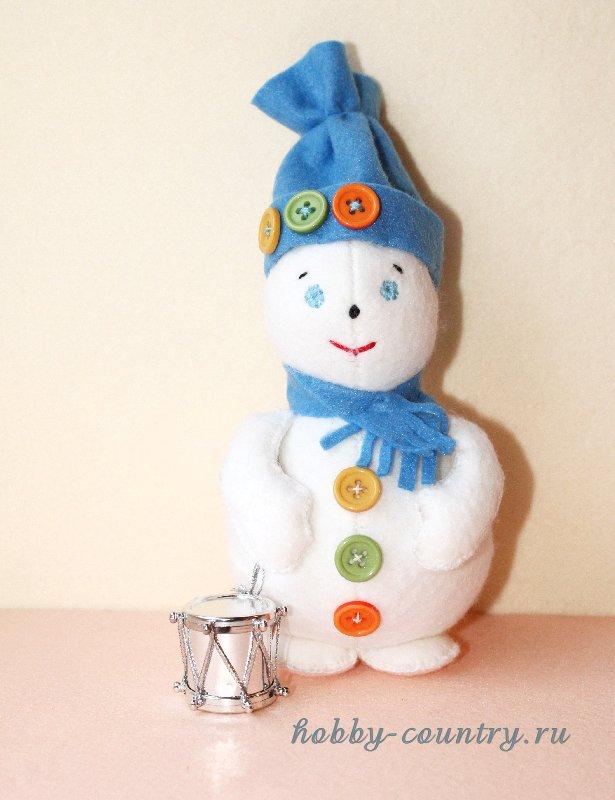 как сшить снеговика выкройка