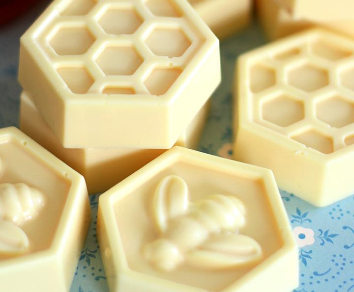мыло из основы с медом