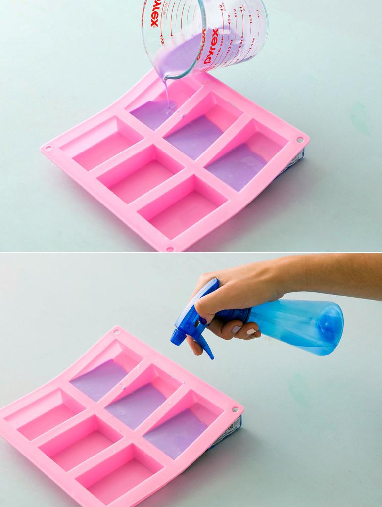 как сделать цветное мыло своими руками