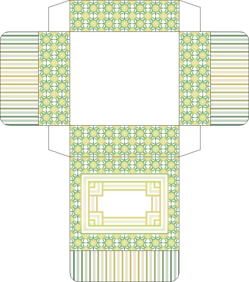 коробочки из бумаги схемы
