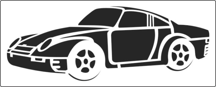 трафарет машины для вырезания