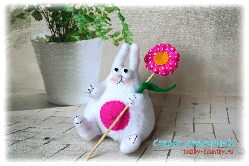 как сшить игрушку зайца своими руками выкройки