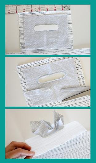сшить корзину из ткани