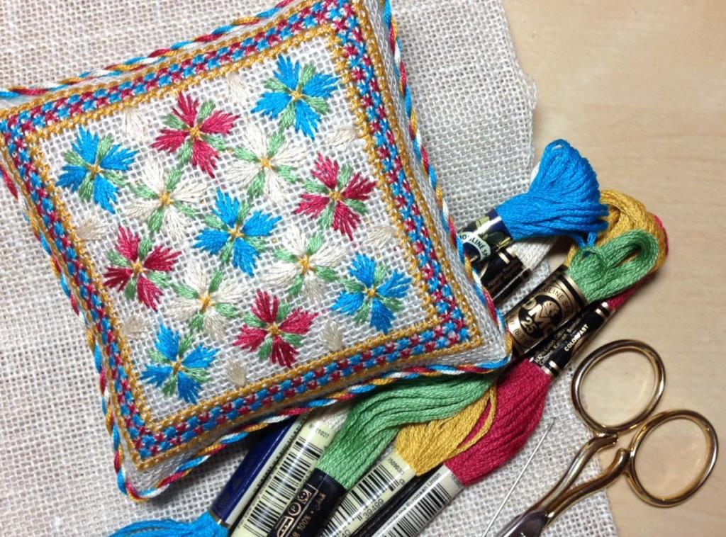 вышивка игольницы схема