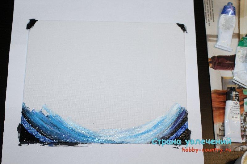 Пошаговая инструкция написания картин маслом