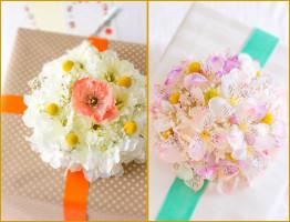поделки из искусственных цветов