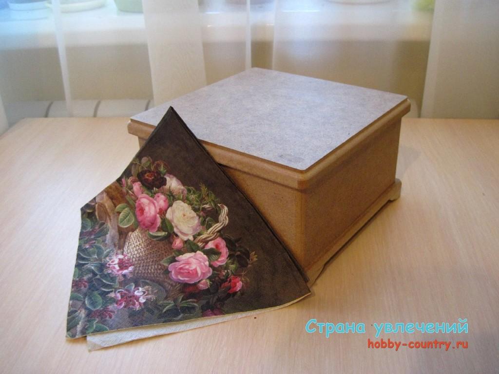 Декупаж мебели салфетками для начинающих пошагово