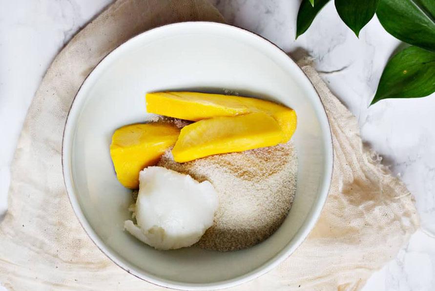 сахарный скраб с манго рецепт
