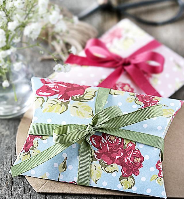 Шаблон упаковки для подарка