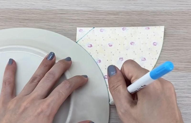 как сшить многоразовую маску из ткани
