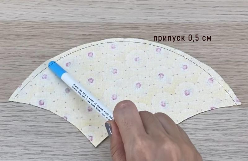 как сшить медицинскую маску без выкройки